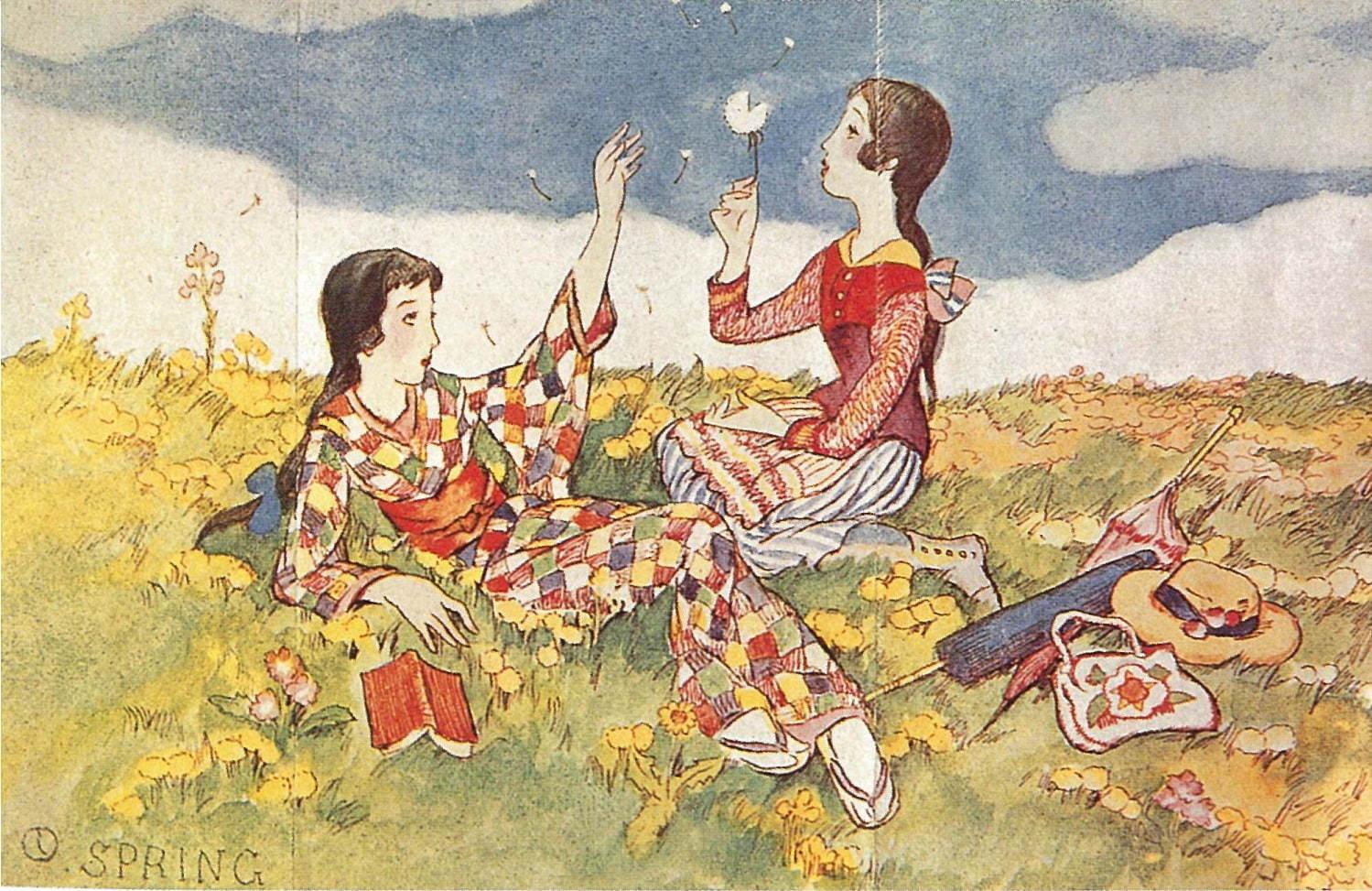 アンティーク着物万華鏡 大正~昭和の乙女に学ぶ着こなし