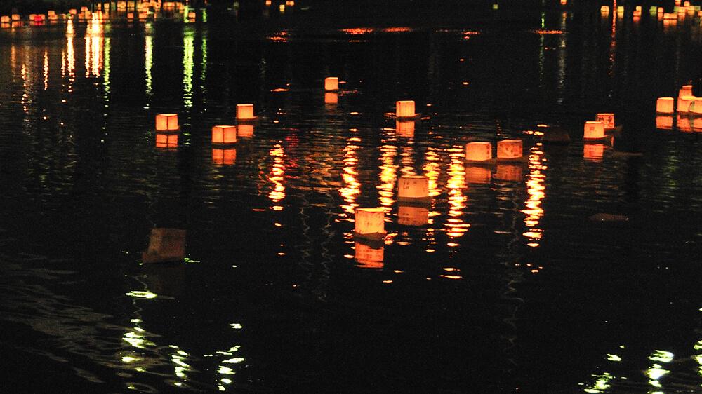浅草夏の夜まつり とうろう流し