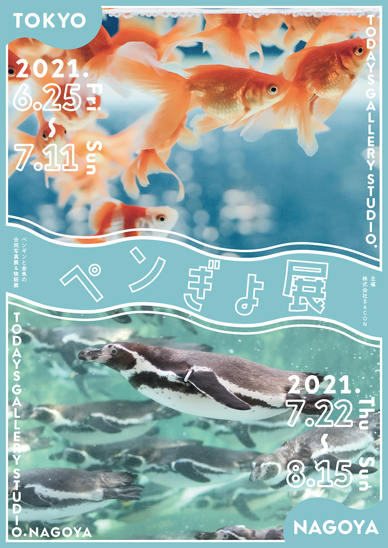 ペンギン×金魚!? 夏にピッタリ涼しさ感じる 作品150点以上展示 「ペンぎょ展 2021」6/25~東京で開催! 限定グッズも豊富に展開 7/22~8/15 名古屋ギャラリーでの巡回展も決定!