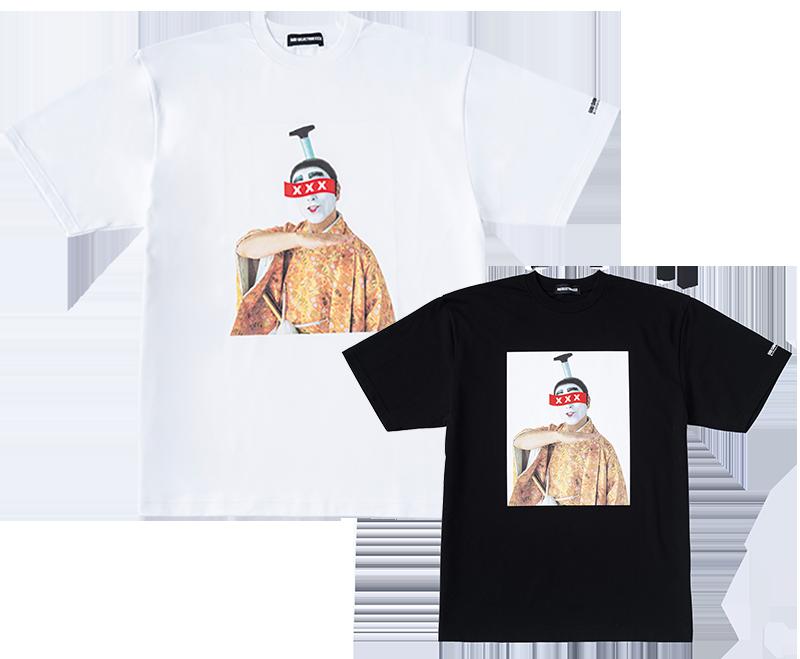 バカ殿様 肖像Tシャツ (白・黒) 16,885円